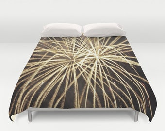 Gold And Black Duvet Cover King, Queen, Full
