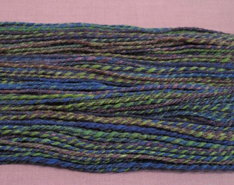124 Yards Merino-Silk Handspun Yarn