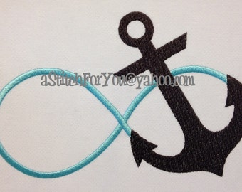 ANCHOR INFINITY - Beach House on a Pillow Gift - INSTANT Download Machine Embroidery Design by Carrie