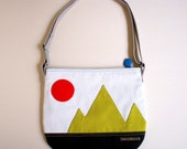 Sling Purse - Mountain Friends Crossbody Sling Purse (LUSH)