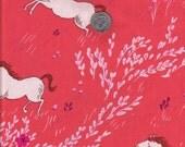 Fat quarter - Summer Ride in Melon - Michael Miller cotton quilt fabric
