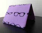 Card Wallet - Purple Geek Chic