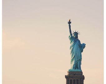 Travel Photograph - New York Photograph - Statue of Liberty - America Art - Lovely Lady 2 - Fine Art Photograph - Home Decor - Wall Art