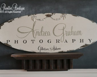 CUSTOM BUSINESS SIGN | Custom Signs | Personalized Signs | Craft Vendor Sign | Advertising | Hand Painted Signs | Office Sign | Wooden Sign
