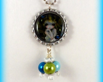 "Jasmine Becket-Griffith  "" Lily ""  necklace"