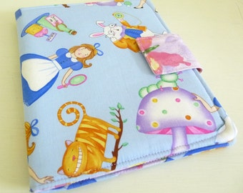 Cute Nook Simple Touch Cover, Nook Glowlight Case, Alice in Wonderland