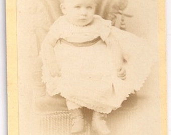 CDv tied in baby photo Hough studio NYC