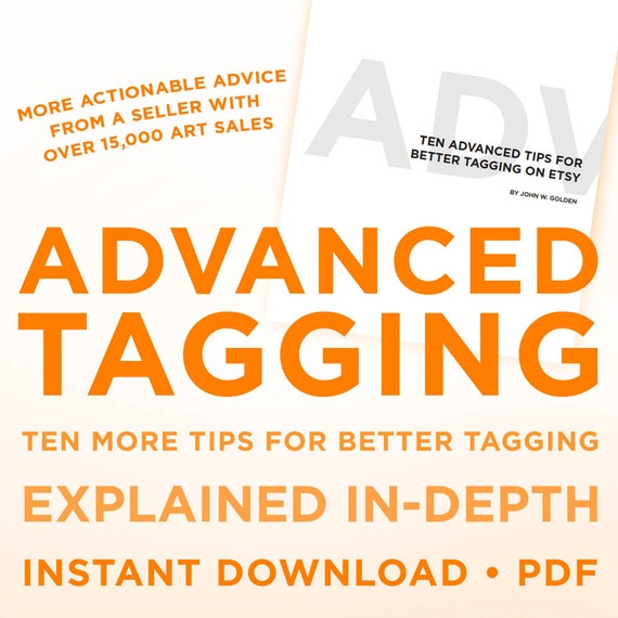 My advanced guide for Better Tagging on Etsy