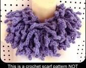 Cowl Scarf Crochet Pattern, Crochet Scarf Pattern, Infinity Scarf Pattern Crochet Infinity Scarf Crochet Pattern WILDFRINGE
