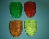 4 Tiki Glycerin Soaps
