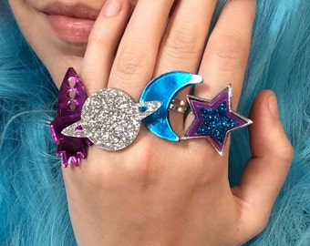 Galaxy Ring Set