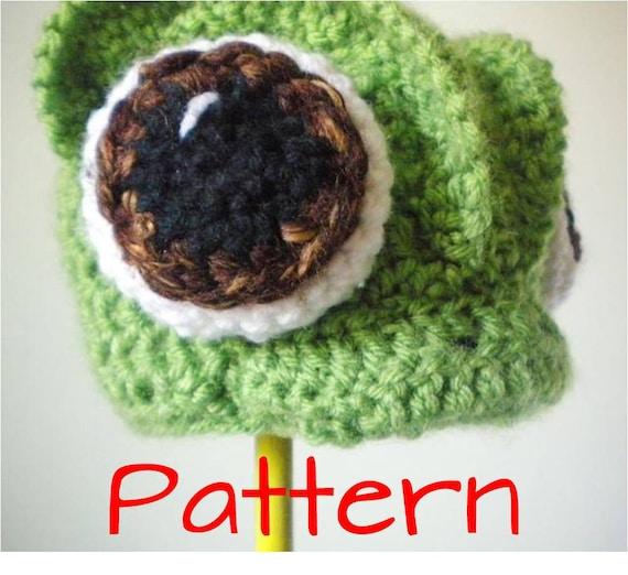 Crochet Chameleons : Crochet Hat Pattern - Crochet Chameleon Animal Beanie - Tangled ...