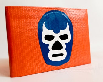 Lucha Libre Duct Tape Wallet - by jDUCT