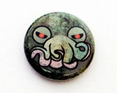 Cthulhu One Inch Pinback Button, Magnet, or Keychain