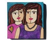 Sisters Art - Best Friend...