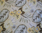 Tracey Chamomile Floral fabric - Richloom Platinum Collection - One Yard Plus 3 1/2 inches