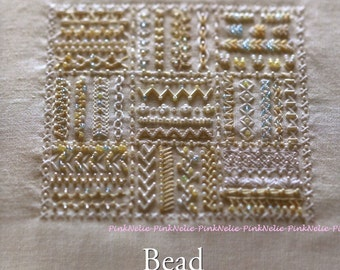 Cute Beads Embroidery Stitches - Craft Book