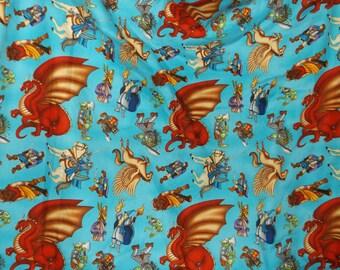 Quilt and Pillow Set Wizards & Warriors  #508