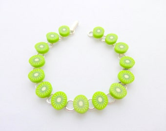 Fresh..........Kiwi Bracelet