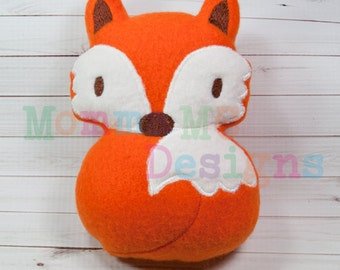 Fox Softie Embroidery Design