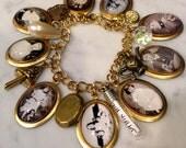 Alice Liddell Charm Bracelet