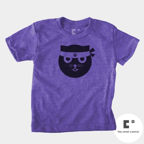 Cat Shirt Baby Boy Boys Clothes Kung Fu Watson the Cat