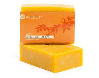 Bliss Bath Bar| Natural Soap Bar|Moisturizing Bath Soap| Sweet Orange Soap| Geranium Bath Bar| Ylang Ylang Soap Bar| Handmade Soap Bar|