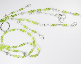 Olive Garden Crystal Beaded Needlework Chatelaine