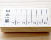 Rubber stamp - things to do - Btype