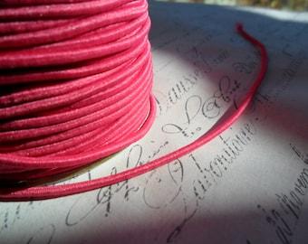 Hot Pink Elastic Cording