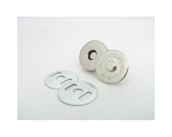 Magnetic SNAP - 14mm Silver - Metal