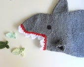 Shark Sweater-- for cats or small dogs-- Custom Order for Jasmine