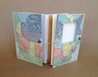 Canada Travel Journal - Notebook with Pockets and Envelopes - Personalized for You