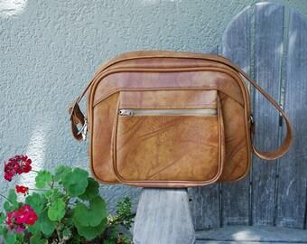 Vintage American Tourister  Messenger Carry-On Tote Bag Luggage Camera Bag