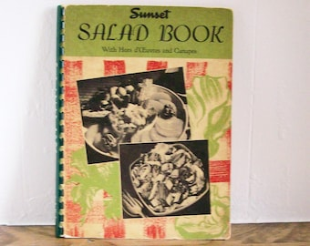 "Cookbook ""Sunset Salad Book"" 1948"