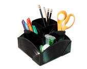 Record Desk Organizer