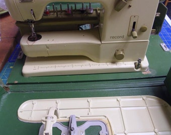 730 Record Sewing Machine Layaway Available Sews Great Vintage Used 1971 Parts Supplies