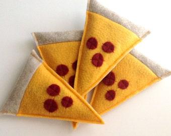 Pepperoni Pizza Slice Catnip Cat Toy