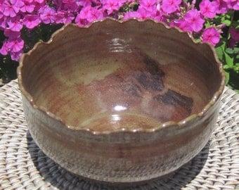 Bowl Rocky Mountain Earth Tones - Handmade Pottery