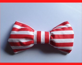 Bowtie Red White Striped BowtieToddler Boys