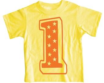 Kids SUPERSTAR First Birthday T-shirt