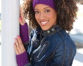 Textured Earwarmer - Special Order- Choose your color