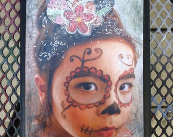 Day of the Dead Girl Wall Art