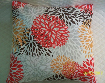 14 inch Pillow Sham   FLORAL mix, Home Decor