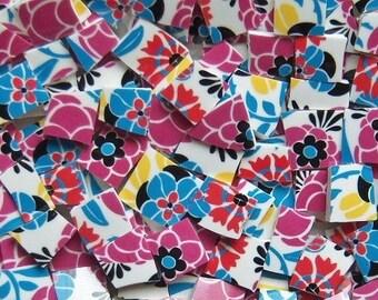Mosaic Tiles---Posies-100 Tiles