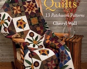Sale At Home with Country Quilts 13 Patchwork Patterns Cheryl Wall Quilting Book Patterns