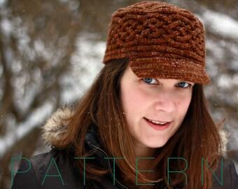 Honeysuckle Hat (pdf knitting pattern)