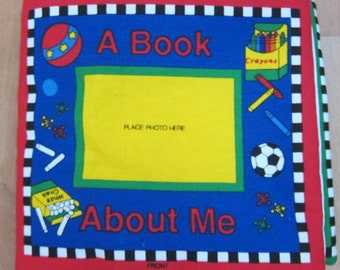 """Fabric Book """"About Me"""""""