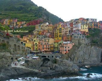 Manarola - fine art photography - 11x14-print - wall art