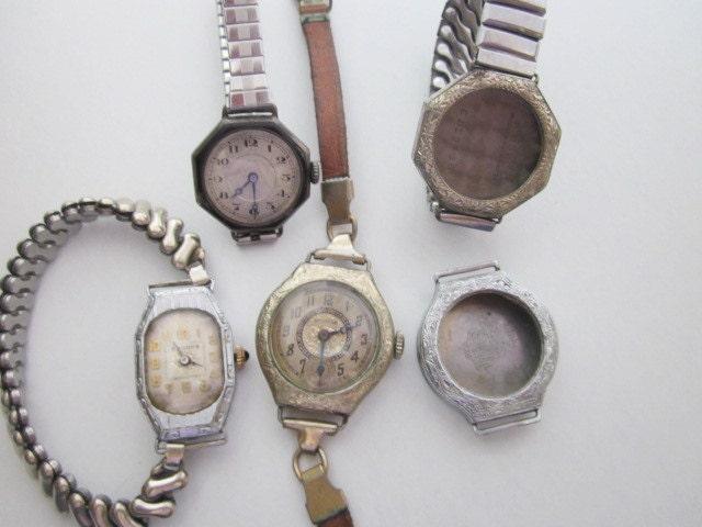 Vintage Watches and Parts DeStash SALE steampunk buy now online